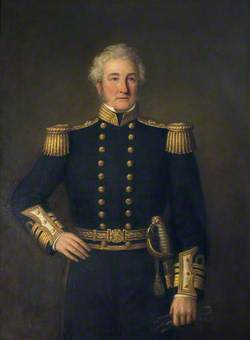 Vice-Admiral C. J. Johnston of Cowhill
