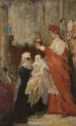 The Crowning of Mary, Queen of Scots