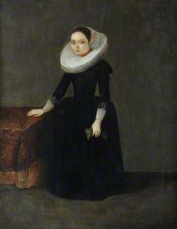 Lady with a Ruff Collar