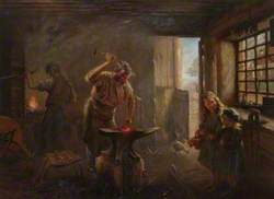 Blacksmith, Midday in the Smiddy