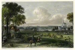 Kilmarnock from near Riccarton