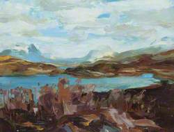 Highland Loch Scene