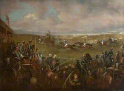 Musselburgh Races, 1835, with 'Goliath' Winning