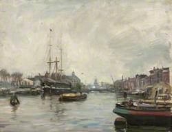 Amsterdam, Harbour Scene