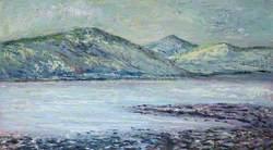 Scottish Landscape with Three Hills