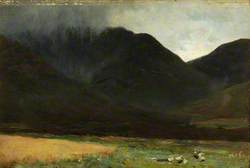 A Rain Cloud in the Highlands