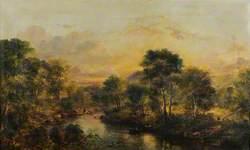 Bend on the Water of Girvan