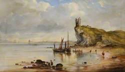 Greenan Castle and Ayr Bay