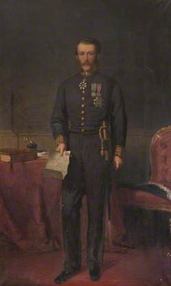 Right Honourable Sir James Fergusson (1832–1907), 6th Bt of Kilkerran, GCSI, KCMG, CIE