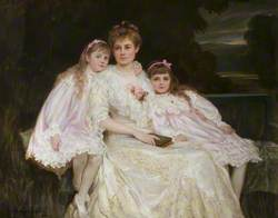 Mrs J. J. Bell-Irving and Her Daughters