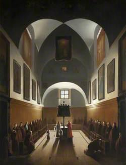 The Choir of the Capuchin Church in Rome