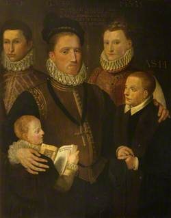 George, 5th Lord Seton, and Family