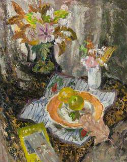 Still Life with Leaf