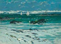Bathers and Yachts, Iona