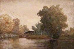 Landscape and the Dart at Totnes