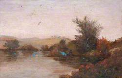 Landscape and Loch Ardinning