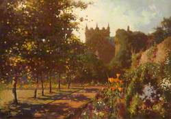 In Duddingston Manse Garden