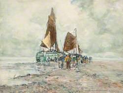 A Dutch Beach Scene