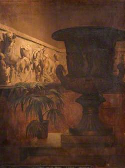 Urn, Plant and Frieze
