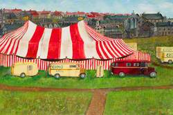 Circus Comes to Town, The Haugh, Kilsyth