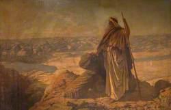 Moses on Mount Nebo