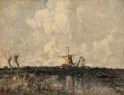 Landscape Windmill