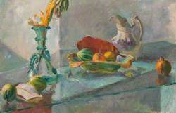 Majorcan Glass and Gourds