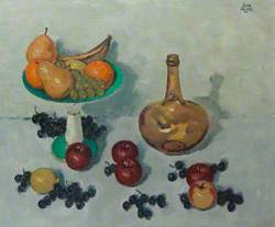 Mixed Fruit with Amber Bottle