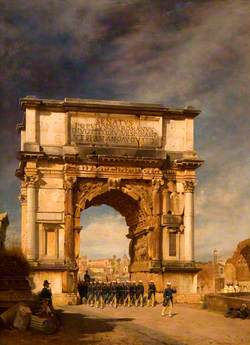 The Arch of Titus, Rome