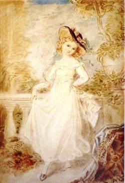 Study of Princess Victoria Dancing