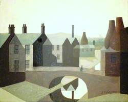 Potteries View with Canal
