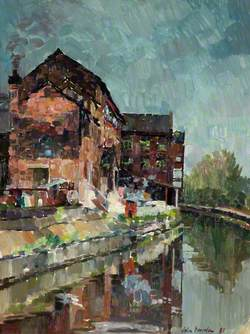 Canal Side Buildings, Middleport