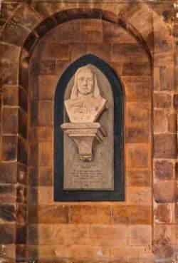 Bust of Izaak Walton