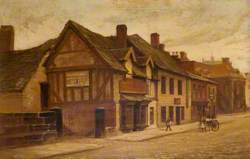 Greengate Street from the Bridge and the Old Pork Pie Shop