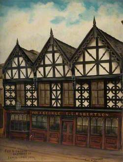 'Fox and George', Eastgate Street, Stafford, Demolished 1904