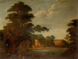 Johnson's Willow, St Chad's Church and Stowe House