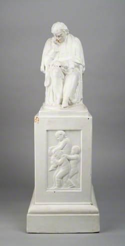 Model for Samuel Johnson Statue