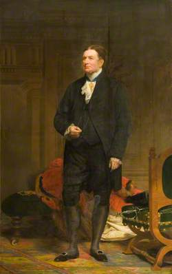 The Right Worshipful William Taylor Copeland (1797–1868), Alderman, President of the Royal Hospitals of Bridewell and Bethlehem