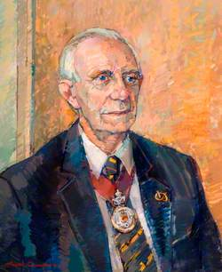 F. A. Cholerton (d.2004), CBE, M Univ (Keele), Chairman of Staffordshire County Council (1981–1989)