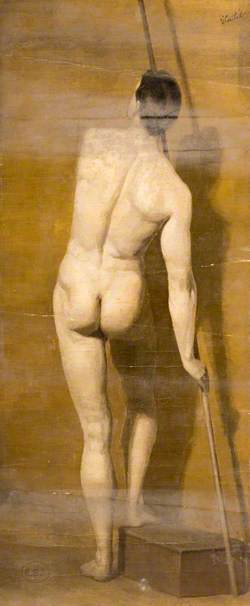 Study of a Male Nude with Javelin