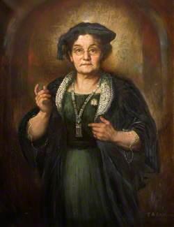 Councillor Emma Lloyd Sproson (d.1936), the First Woman Elected to the Wolverhampton Borough Council, 1 November 1921