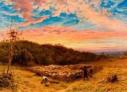 The Sheepfold, Morning in Autumn