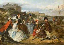 Victorian Family at the Seaside
