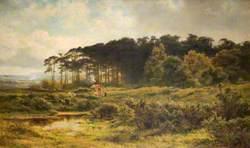 Landscape with a Gypsy Caravan