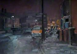 Ford Transit at Night, Brockmoor