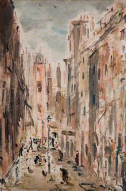Street Scene in Italy
