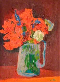Flower Painting (Nasturtiums)