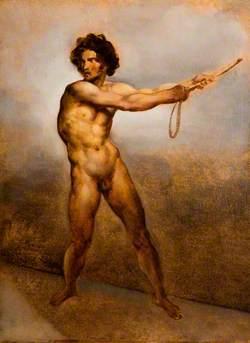 Etude d'un homme nu (Study of a Nude Man)