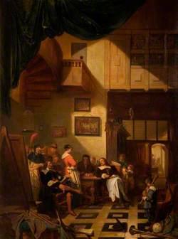 Van Dyck in the Studio of Van der Helst