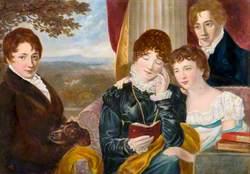 Alfred Barrs, Frederick Barrs, Emmeline Barrs and Annie Elizabeth Haden
